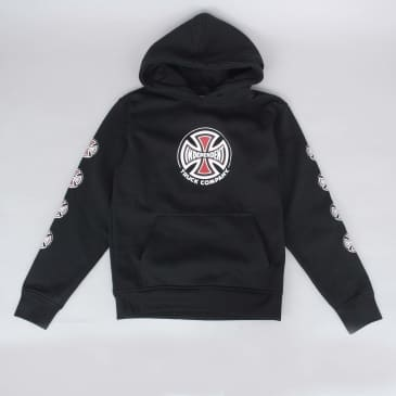 Independent Truck Co Sleeve Youth Hood Black