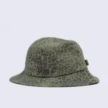 HUF Shell Shock Camp Bucket Hat Olive