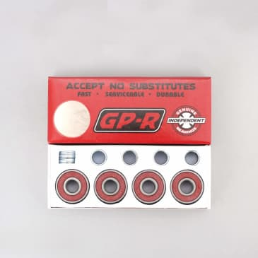 Independent Genuine Parts GP-R Bearings Red