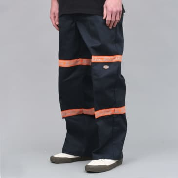 Dickies Gardere Double Knee Reflective Tape Pant Dark Navy