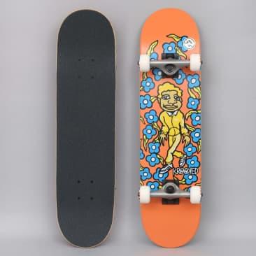 Krooked 7.3 Team Sweatpants Mini Complete Skateboard Orange