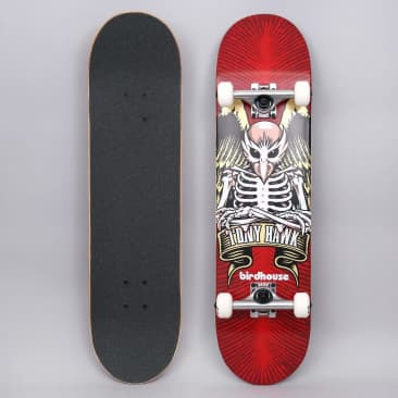 Birdhouse 8 Stage 1 TH Icon Complete Skateboard Red