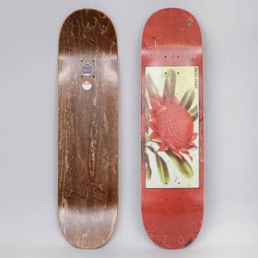 Passport 7.875 Waratah Tin Floral Series Skateboard Deck Red