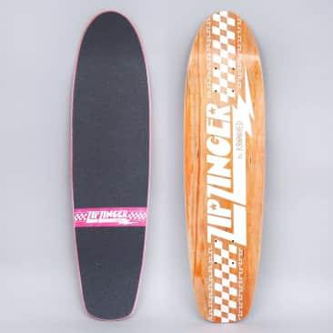 Krooked 7.75 Zip Zinger Skateboard Deck Orange
