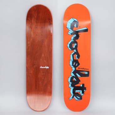 Chocolate 8 Kenny Anderson Lifted Chunk Skateboard Deck Orange