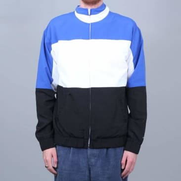 Grand Collection Nylon Jacket White / Blue