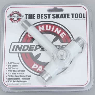 Independent Genuine Parts Best Skate Tool White