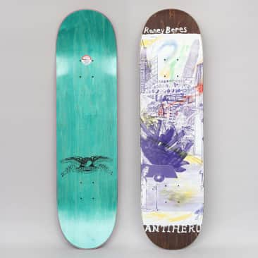 Anti Hero 8.12 Beres SF Then And Now Skateboard Deck