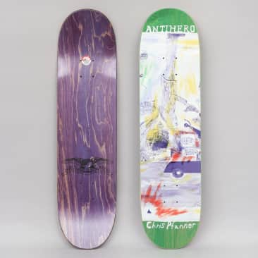 Anti Hero 8.06 Pfanner SF Then And Now Skateboard Deck
