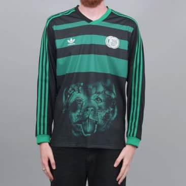 adidas Tyshawn Longsleeve Jersey Black / Green