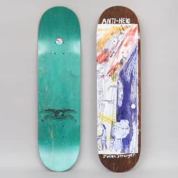Anti Hero 8.4 Stranger SF Then And Now Skateboard Deck