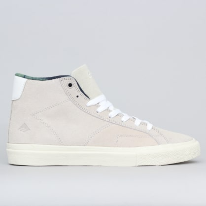 Emerica Omen Hi Shoes White / White