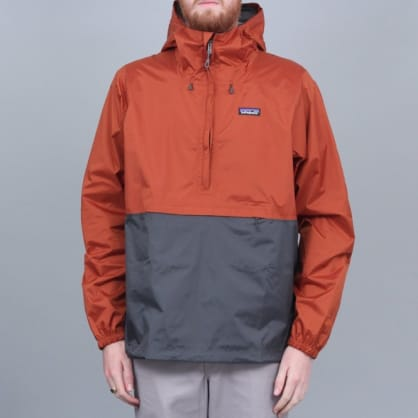 Patagonia Torrentshell Pullover Jacket Copper Ore
