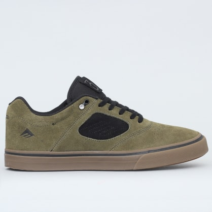 Emerica Reynolds 3 G6 Vulc Shoes Olive / Black / Gum