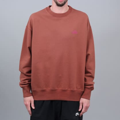 Paccbet Embroidered Crew Brown