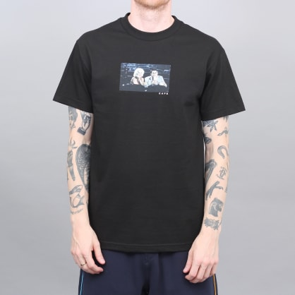 Skateboard Cafe Cinema T-Shirt Black