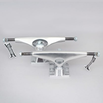Krux 8.25 K5 Polished Standard Skateboard Trucks Silver