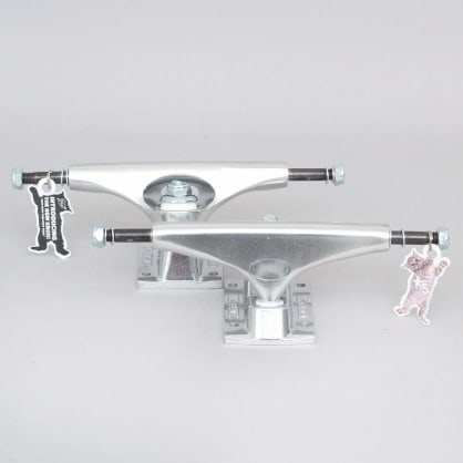 Krux 8 K5 Polished Standard Skateboard Trucks Silver