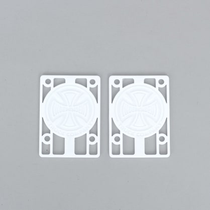 Independent 1/8 Riser Pads White
