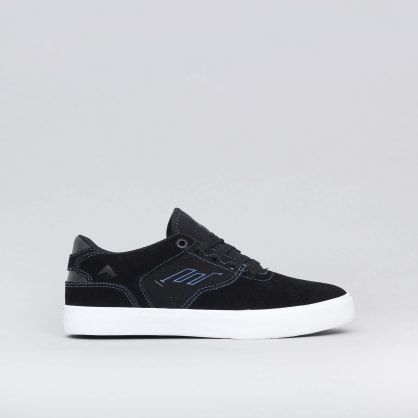 Emerica The Low Vulc Youth Shoes Black / Blue