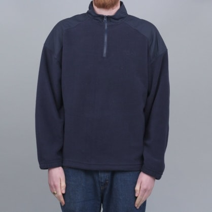 Polar Lightweight Fleece Crew Navy