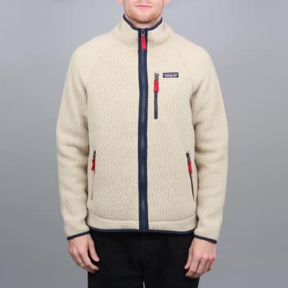 Patagonia Retro Pile Fleece Jacket El Cap Khaki