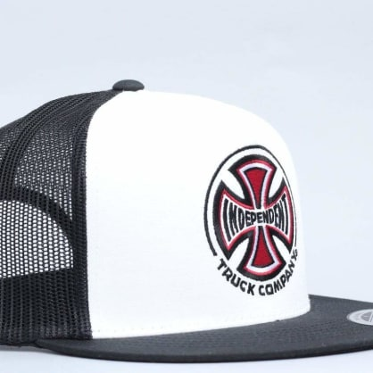 Independent Truck Co Mesh Cap White / Black