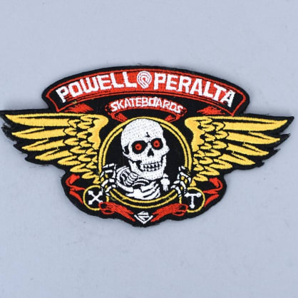 Powell Peralta Winged Ripper Patch