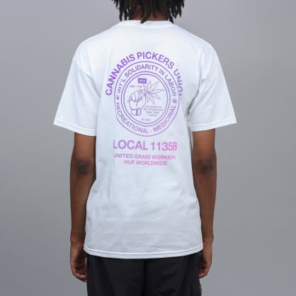 HUF Unionized T-Shirt White
