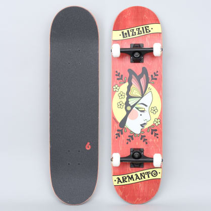 Birdhouse 8 Stage 3 Armanto Butterfly Complete Skateboard Red