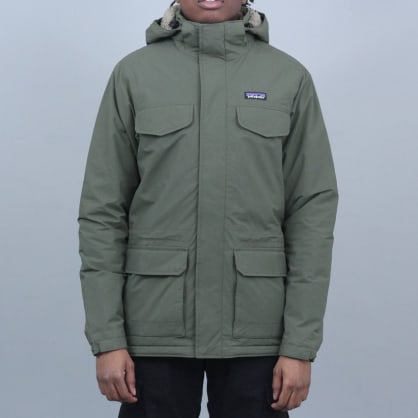 Patagonia Isthmus Parka Jacket Industrial Green