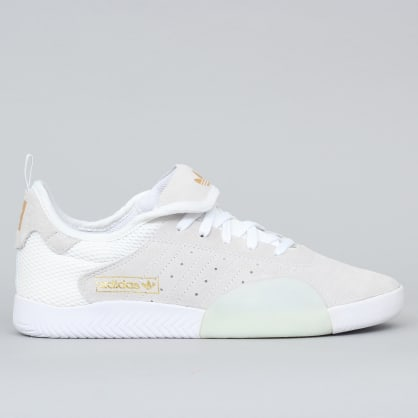 adidas 3ST.003 Shoes Footwear White / Blue Tint / Gold Metallic