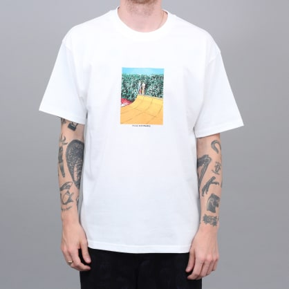 Polar X Iggy Boys On Ramp T-Shirt White