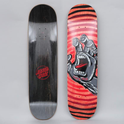 Santa Cruz 8.125 Off Hand HRM Skateboard Deck Red