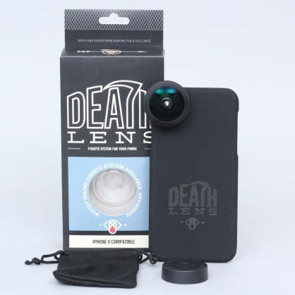 Death Lens iPhone X Fisheye Lens