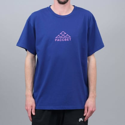 Paccbet Large Logo T-Shirt Navy