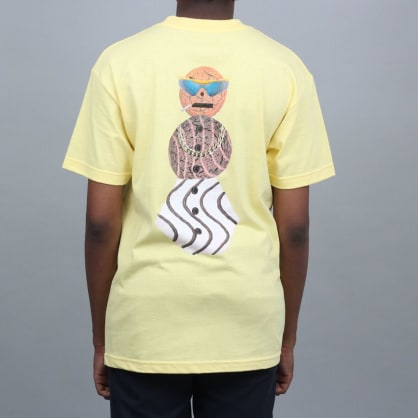 Dime X Quartersnacks T-Shirt Yellow