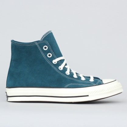 Converse Chuck 70 Hi Shoes Midnight Turquoise / Black / Egret