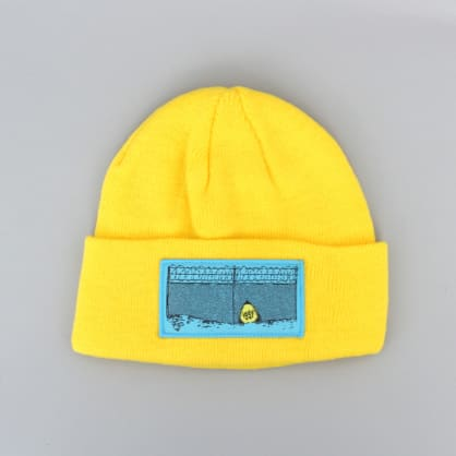 Iggy Escape Patch Beanie Yellow