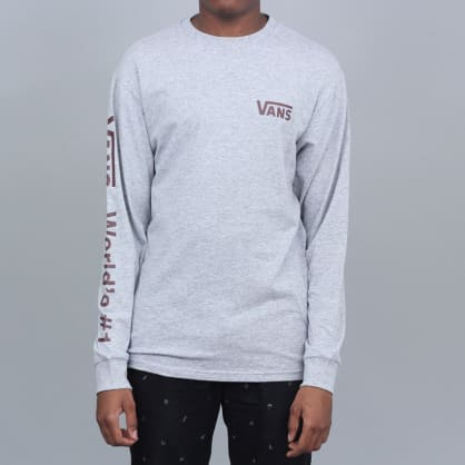 Vans Worlds #1 Longsleeve T-Shirt Athletic Heather