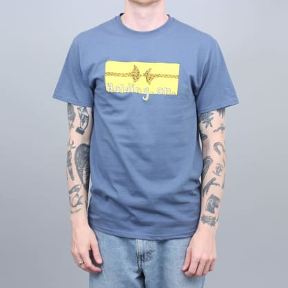 Iggy Holding On T-Shirt Denim Blue