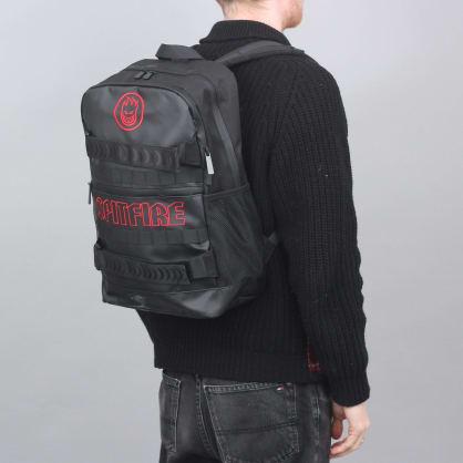 Spitfire Road Dog Backpack Bag Black