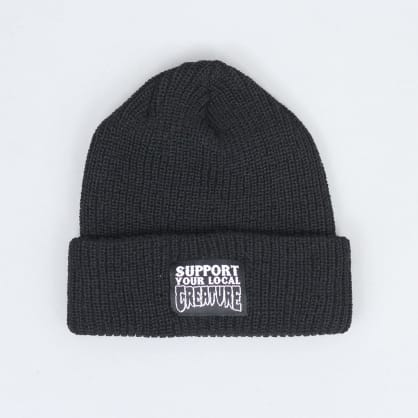 Creature Support Longshoreman Beanie Black