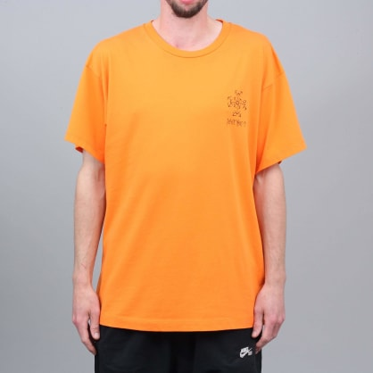 Paccbet Small Logo T-Shirt Orange