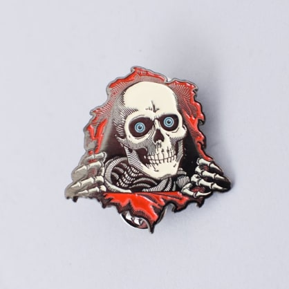 Powell Peralta Ripper Lapel Pin Badge