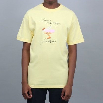Dime Skate & Destroy T-Shirt Yellow