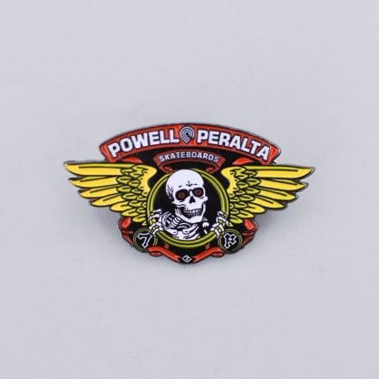 Powell Peralta Winged Ripper Lapel Pin Badge