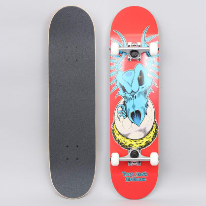 Birdhouse Skateboards Chicken Stage 1 Factory Complete Skateboard Mini Red 7.38/""