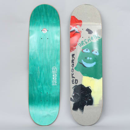 Krooked 8.38 Drehobl Paint Smudge Skateboard Deck