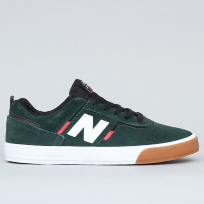 New Balance Numeric 306 Shoes Dark Green / Red